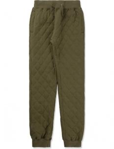 Olive Drab X-box Qulited Sweatpants
