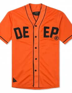 Orange Alta Vista Baseball Jersey