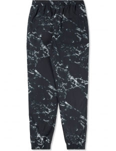 Black Marble Track Pants