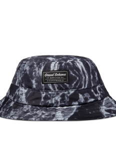 Black Marble Bucket Hat