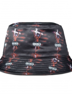 Black Makaveli Bucket Hat