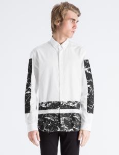 White Marble Boxes Oxford Shirt