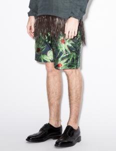 Blue Ladybird Jacquard Shorts