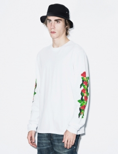 White Rose L/S T-Shirt
