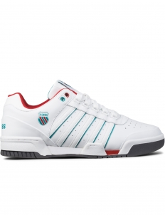 White/Blue/Red Gstaad Shoes