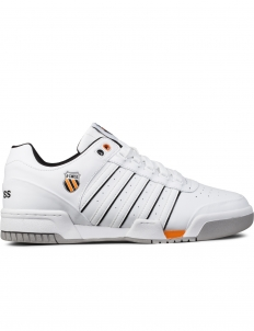 White/Black/Orange Gstaad Shoes