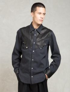 Black Western L/s Shirts