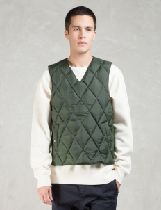 Khaki Shelton  X Comfy Down Vest