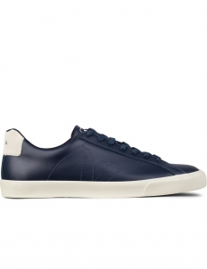Navy Esplar Leather Sneakers