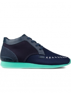 Navy Memory Sneakers