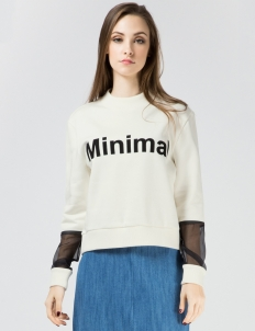 White Sofiana Sweater