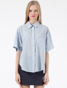Blue Dressing Grandpa Shirt