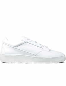 White Low Top 3 Sneakers
