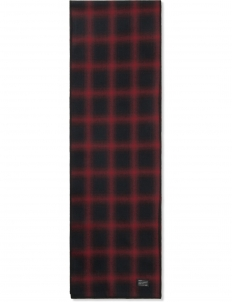 Red Shadow Plaid Scarf