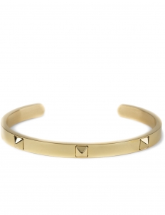 Gold Gold Stud Cuff Bracelet