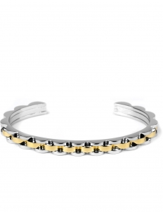 Gold Gold Wave Cuff Bracelet