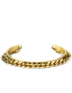 Gold Gold Trinity 3 X 1 Cuff Bracelet