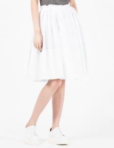 White Balloon Skirt