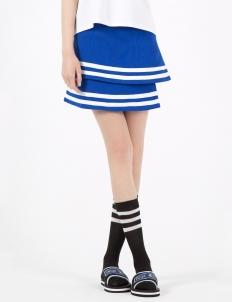 Blue Teddy Skirt