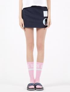 Navy Wasabi Gumball Skirt