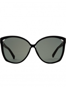 Matte Black x Grey Lens Sunglasses