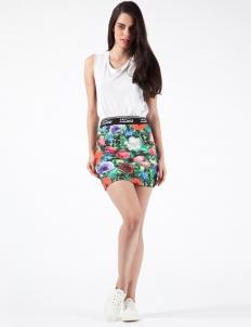 Garden Floral Mini Skirt