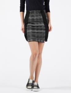 Black Rioda Geometric Skirt