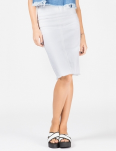White Romford Pencil Skirt