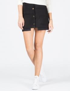 Black Rory Welt Skirt