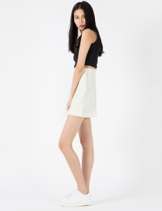 Bright White Mabel Skirt