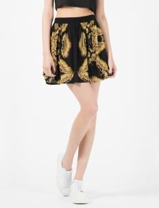 Black/Golden Eagles Skirt