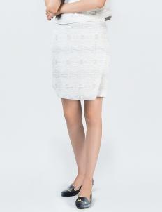 Light Grey Bahia PT Wrap Skirt