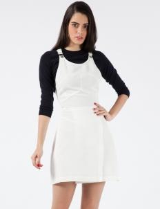 White Corrugated Dress