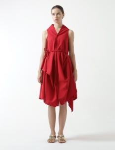 Sleveless Wrap Dress