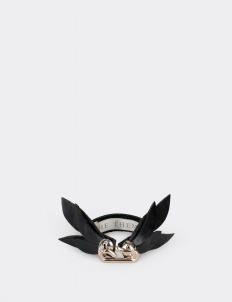 Black Message Bracelet