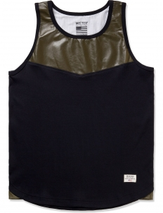 Army Perforated Hide Tank Top