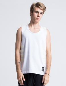 White Akers Tank Top