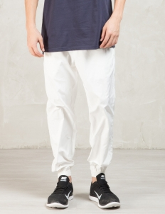 White Deft Jogging Pants