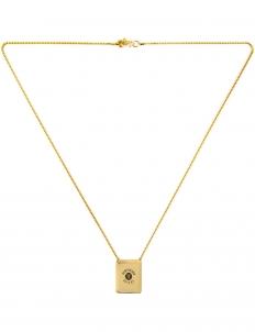 Vfiles Sport Plus X Ambush Gold Downward Spiral Necklace