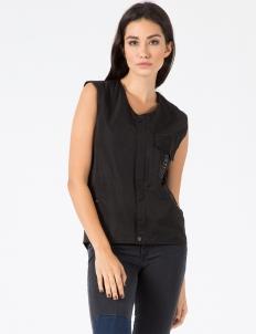 Black Strap Vest