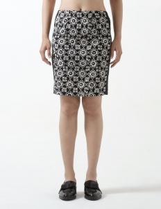 Black Dindra Skirt