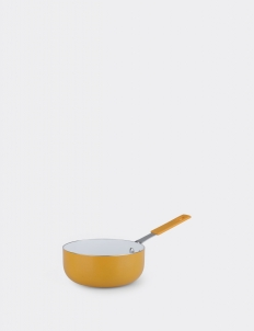 Mini Pan With Silicone Handle Natura Ceramia Arancia