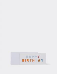 Happy Birthday 3 Greeting Card
