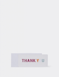 Thank You 3 Greeting Card