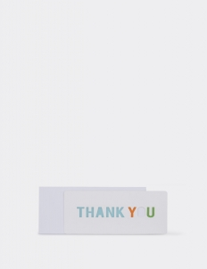 Thank You 5 Greeting Card