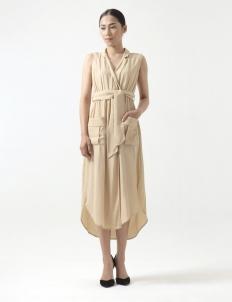 Beige Ivy Dress
