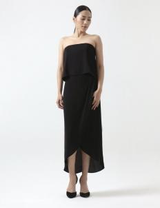 Black Delphina Dress