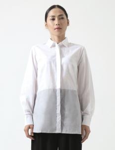 White Grey Agata Shirt