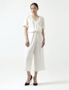 White Yasmin Jumpsuit