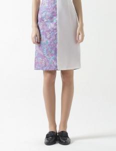 Rue Slit Skirt in Purple